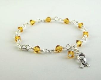 Appendix Cancer Awareness Bracelet