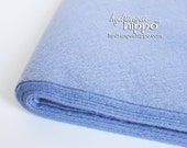 10 Sheets - PERIWINKLE BLUE - Wool Blend Felt - 12 x 18 inch sheets