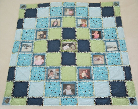 Custom Order Memory Quilt Rag Lap Quilt Quiltsy Handmade