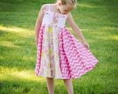 Boardwalk PDF Pattern Twirl Jumper Dress sizes 12m to 11/12 pdf Instant Download