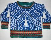 Knitting Pattern: Dancer Size One Year