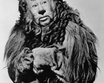 Bert Lahr The Wizard of Oz vintage image The Cowardly Lion