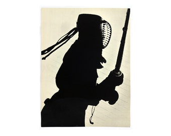"Sheldon Brody ""Kendo"" poster, c.1970.  Graphic design education by Reinhold Visuals"