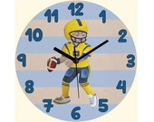 Baby boy wall decor, Sports decor, Art for boys room, Nursery decor boy, Football decor, Nursery sports decor, Sport wall decor