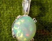 Amazing Natural Ethiopian Welo Opal Pendants 10 x 9mm