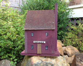 Handmade Birdhouse - Antiques - Old Tin Roof - Cape Cod