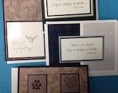 Pet Sympathy Cards