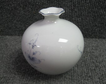 "Limoges France small Flower Vase - 4"" tall"