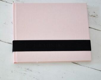 Custom Boudoir Photo Book, A Unique Boudoir Album - Velvet Sash design by ClaireMagnolia