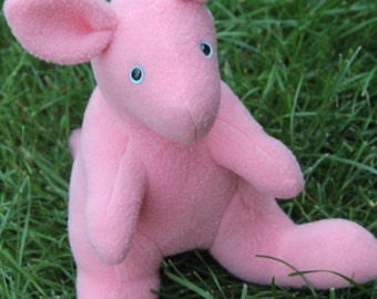 Little Pink Joey Kangaroo