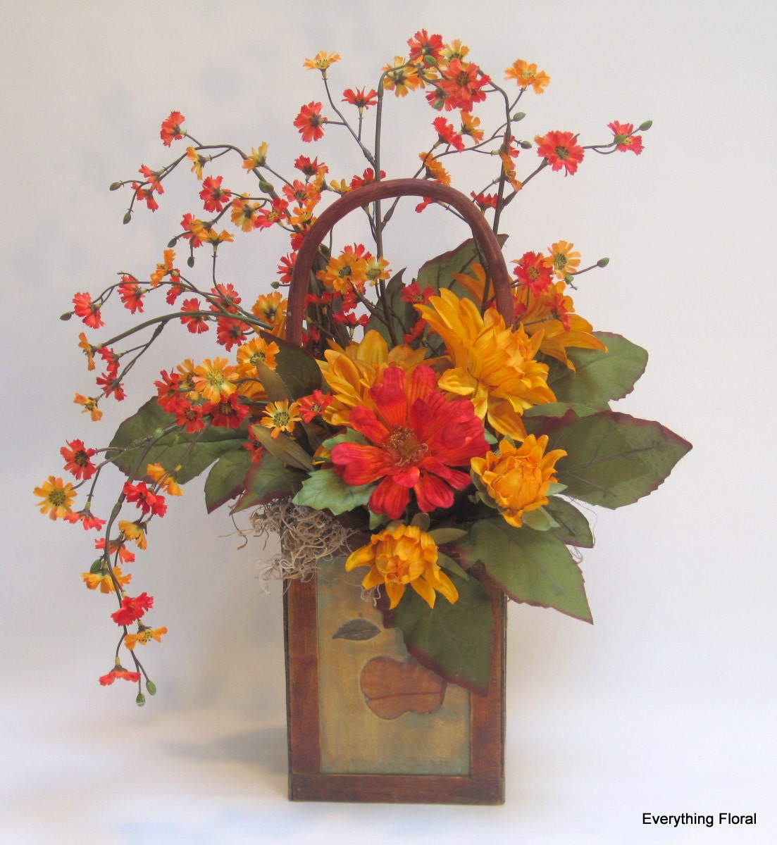 Thanksgiving table centerpiece fall décor by everythingfloral