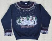 Ugly Christmas Sweater Sweatshirt Made Uglier