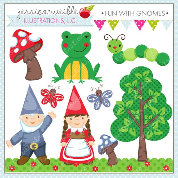 Fun with Gnomes Cute Digital Clipart for Commercial or Personal Use ...: https://www.etsy.com/listing/65651060/fun-with-gnomes-cute-digital...