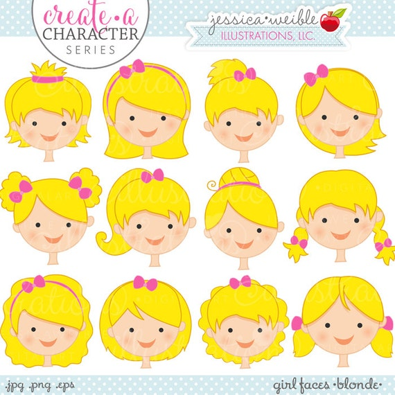 clipart little girl face - photo #32