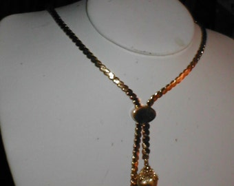 Vintage 1960's MONET Larriot Necklace