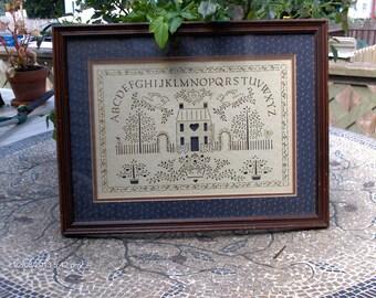 Price Reduction - Vintage Figi Graphics Cut Out Art Sampler - Beautiful