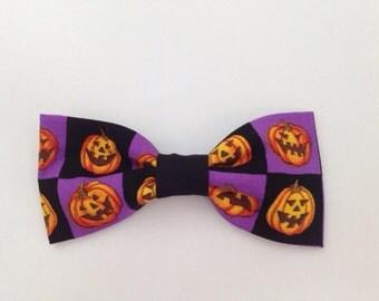 Halloween Dog Bow Tie, Dog Bow Tie, Dog Bowtie, Pet Bow Tie, Dog Collar, Pet Collar