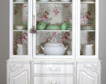 White French China Cabinet (sold)