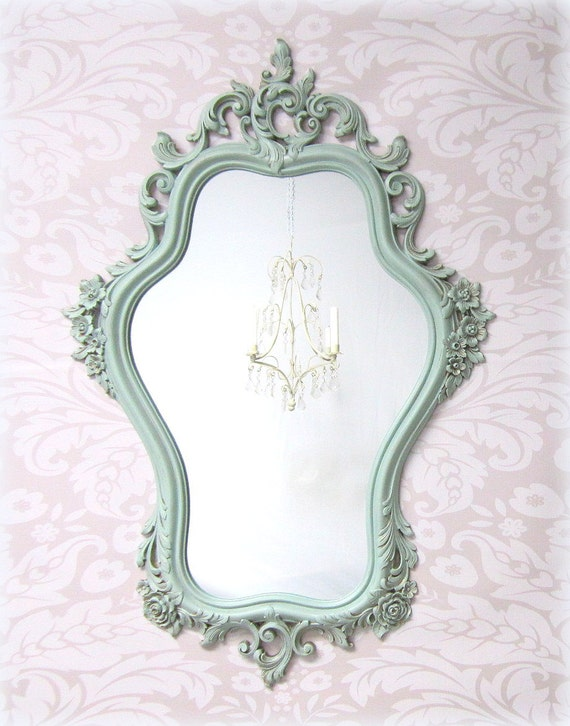 Shabby Chic Mirrors For Sale Vintage Framed Shabby Chic