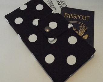 Dollbirdies Long Boarding Pass Passport Wallet Last One this Fabric
