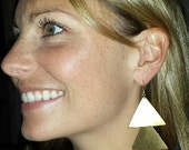Vintage Brass Arrow Earrings