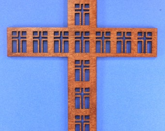 Small Wood Disciples Cross