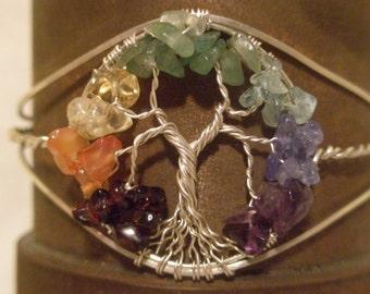 Chakra / Mothers Tree of Life Bracelet