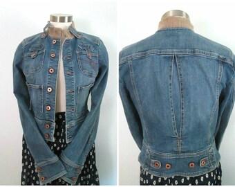 1990s Guess Denim Jacket Vintage Back To School