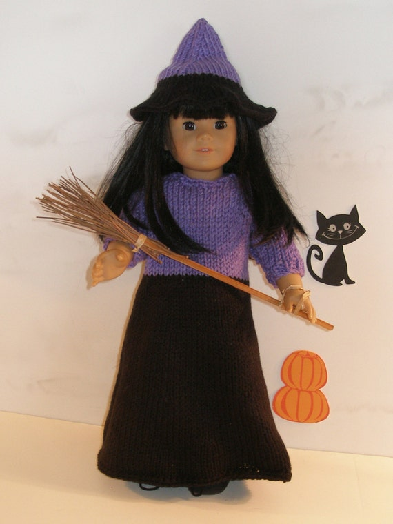 Free Knitting Pattern Witch Doll : WICKED WITCH Dolls Knitting pattern