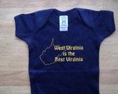West Virginia is the best virginia creeper/onesie
