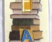 Bookmark.  Laminated.  Read books.