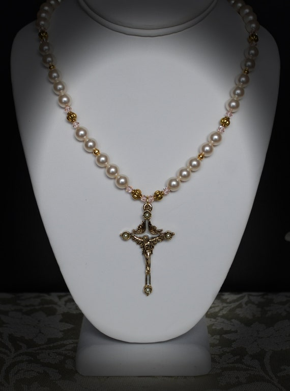 catholic necklace crucifix necklace christian