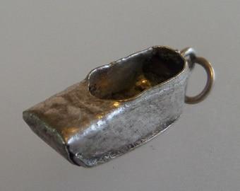 HANDMADE CLOG SHOE Silver Danish/Dutch Clog Shoe