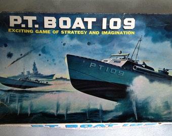 1960's Vintage PT 109 Board Game
