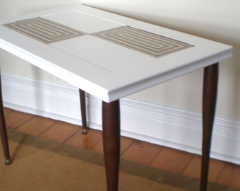 Vintage Danish Modern Side/Coffee Table/Tile top
