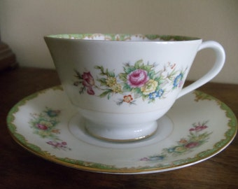 Vintage Occupied Japan Sango Cup and Saucer // 324