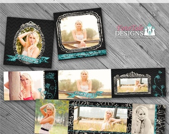 Chalk It Up 3x3 Accordion Album- custom photo templates for photographers on WHCC, Millers Lab and Pro Digital Photos Specs