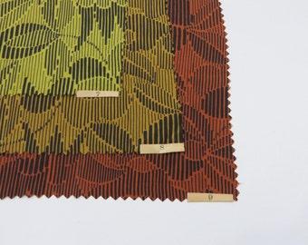 Vintage 1920s Fabric / 20s Fabric / 1920s Silk Dress Fabric Sample Set / Art Deco Nouveau Floral