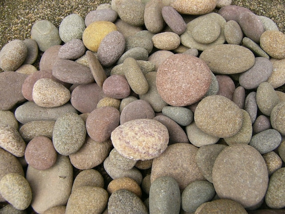 Small river rocks large lot neat little river by rocksisters for Small river pebbles