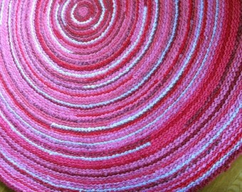 CUSTOM Round Rug - size & color