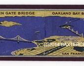 Magnet - Oakland Bay Bridge, Golden Gate Bridge