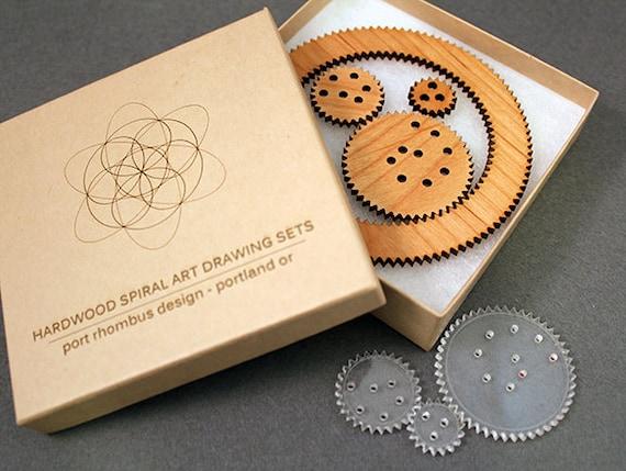 Outil de dessin art bois spirale pour r daction par portrhombus - Dessiner des rosaces ...