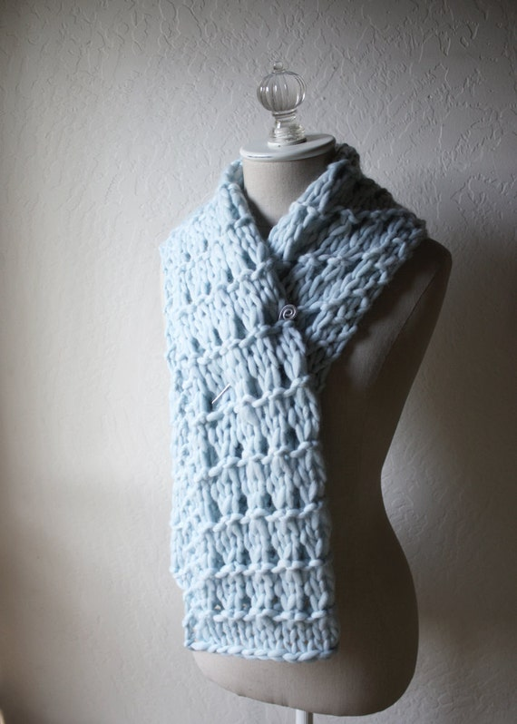 Knitting Pattern / Cowl Scarf Chunky Oversized / Urbana / PDF Digital Deliver...