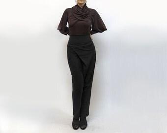 pants,gray pants,tight pants,women pants,classic pants,jersey pants,comfortable pants,original pants,suit,urban casual Model P-23