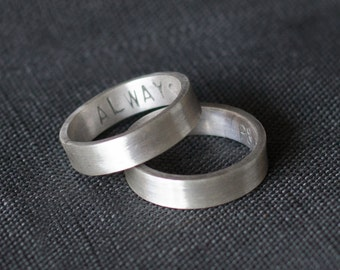 His And Hers Wedding Ring Set