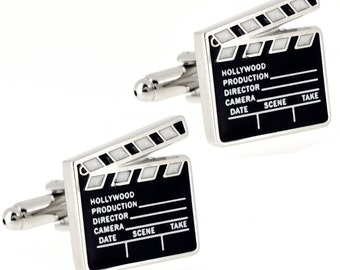 Hollywood Movie Clapboard Cufflinks 1200234