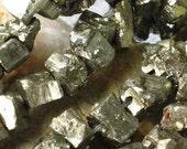 Iron Pyrite Chunks Strand