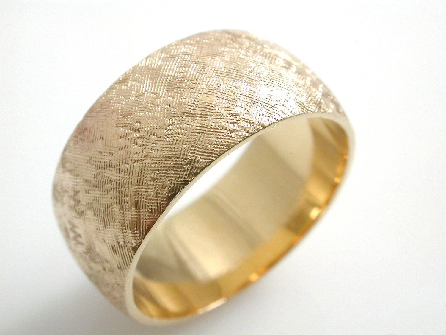 wide gold wedding band unique wide gold by jewelluxeclassic