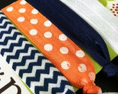 Gameday Girlies:  The Auburn Angel Hair Tie Collection