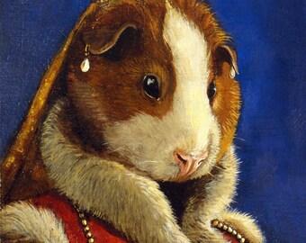 """Guinea Pig - """"A Grand Image""""  - 5x7 print"""